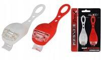 Zestaw lamp ProX Alkor silikonowe biała i czerwona