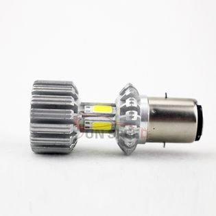 Żarówka BA20D/H6 CREE LED 1500lm 24W zimna
