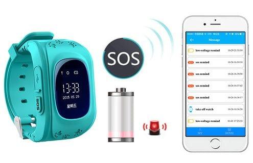 Zegarek Smartwatch G36 dla dzieci z lokalizatorem GSM SIM SOS T189 zdjęcie 8