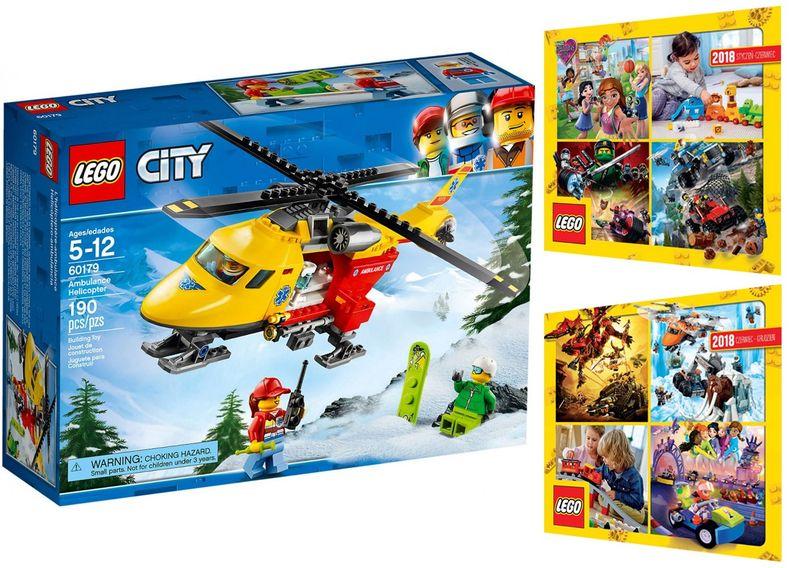 Lego City 60179 Helikopter Medyczny 2 Katalogi Arenapl