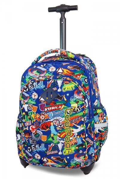 383b65e81feb0 Plecak CoolPack JUNIOR na kółkach w kolorową kreskówkę