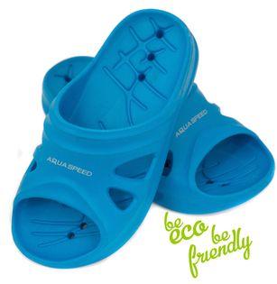 Klapki basenowe FLORIDA roz. 28-35 Rozmiar - Klapki - 35, Kolor - Klapki - Florida - 01 - niebieski