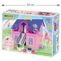 Play house domek dla lalek mebelki zabawka rozwój