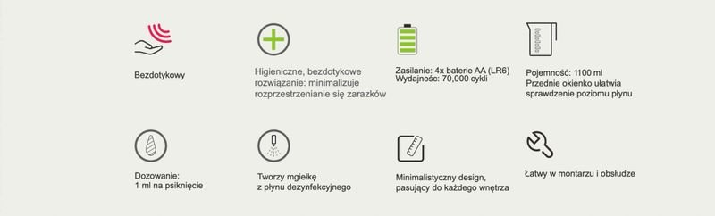 AUTOMATYCZNY DOZOWNIK DO PŁYNU DEZYNFEKCYJNEGO na Arena.pl