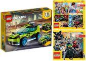 LEGO CREATOR 31074 WYŚCIGÓWKA + 2 KATALOGI LEGO