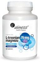L-treonian magnezu Brain Booster 75 mg x  60 tabletek Aliness