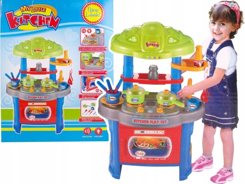 Interaktywna Kuchnia Dla Dzieci światło Dźwięk