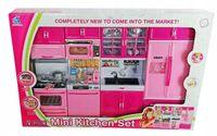 Kuchnia meble dla lalek Barbie światło dźwięk