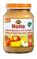 Holle Deserek jabłko banan morela Bio po 6 miesiącu 190 g