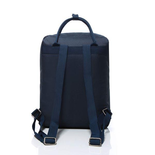 Plecak jak kanken CLASSIC vintage damski młodzieżowy granatowy zdjęcie 7