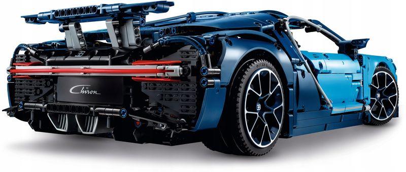 LEGO TECHNIC 42083 Bugatti Chiron zdjęcie 2