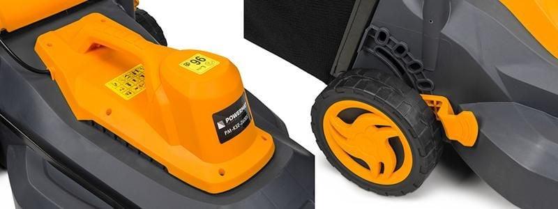 Kosiarka elektryczna 2600W 40CM Powermat PM-KSE-2600S zdjęcie 5