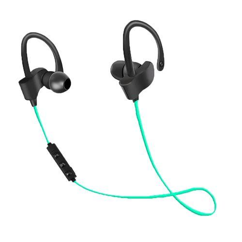 EH188G Esperanza słuchawki douszne bluetooth sportowe czarno-zielone na Arena.pl