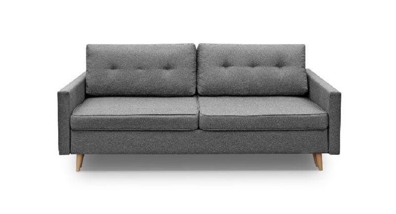 Kanapa Sofa BLUE rozkładana bonell Skandynawska zdjęcie 8
