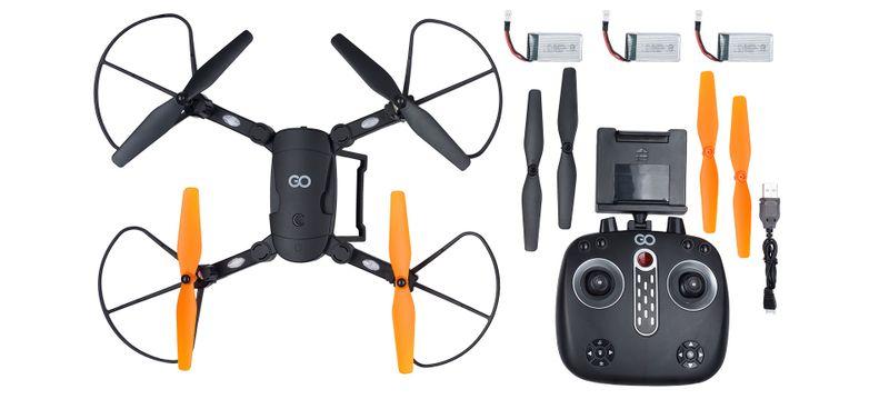 DRON Z KAMERĄ HD TRANSFORMER GOCLEVER FPV LED zdjęcie 3