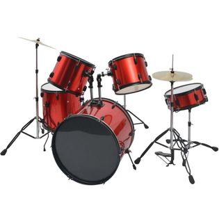 Kompletna Perkusja W Kolorze Czerwonym