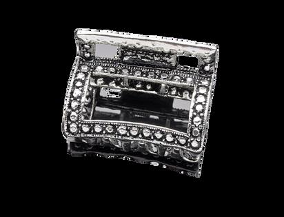 Spinka francuska - metalowa klamra 2,7 x 3,8 cm