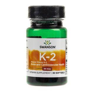 Swanson Witamina K2 MK7 50 mcg - 30 kapsułek