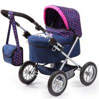 BAYER Wózek dla lalek Trendy Głęboki Jednorożec