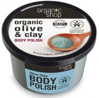 Organic Shop scrub niebieska glinka