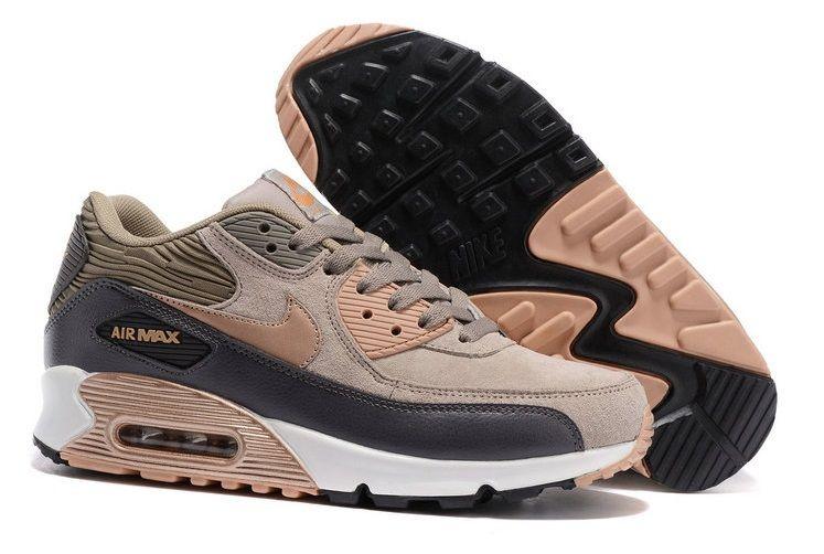 Nike Air Max 90 beż męskie 42 buty brązowe