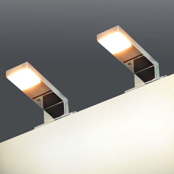 Lampa Lampka Lampy ścienne Nad Lustro Do łazienki 2 Sztuki Zestaw
