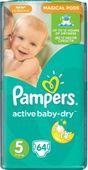 Pampers Active Baby Junior 5 (11-18kg) pieluszki 64szt Gigant Pack
