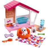 Barbie Zestaw legowisko dla zwierząt + Akcesoria