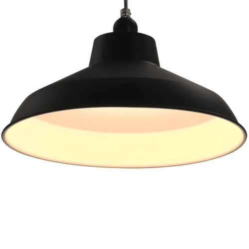 Lampy Wiszące, 2 Szt., Czarne, Okrągłe, E27 na Arena.pl