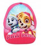 Czapka z daszkiem Psi Patrol Paw 54 różowa ciemna zdjęcie 3