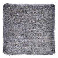 Szara poduszka Glitter 45x45 cm