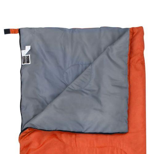 Lumarko Lekki śpiwór dziecięcy, prostokątny, pomarańczowy, 670 g, 15°C! na Arena.pl