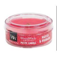 Świeca zapachowa Petite Candle WoodWick - Radish i Rhubarb