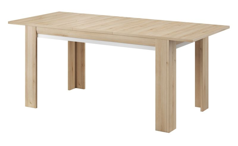 Zestaw stół i cztery krzesła do jadalni komoda witryny meble pokojowe zdjęcie 13