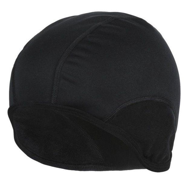 Czapka kolarska Softshell czarna - r. L/XL zdjęcie 3