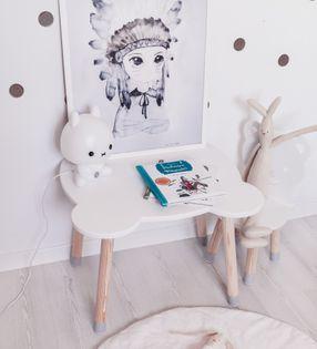 Stolik stoliczek dla dzieci Miś do pokoju dziecięcego