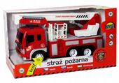 Wóz Strażacki STRAŻ POŻARNA Auto Światło DŹWIĘK zdjęcie 6