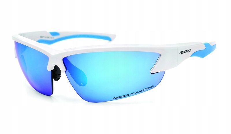 Okulary arctica s-255b lustrzanki sportowe blue zdjęcie 6