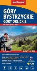 Mapa turystyczna - Góry Bystrzyckie/Góry Orlickie praca zbiorowa