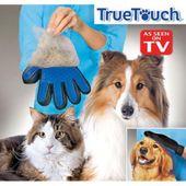 ORYGINALNA Rękawica do czesania masażu dla psa kota szczotka