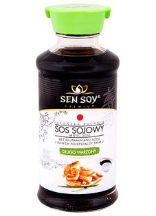 Sos sojowy - mniej soli, długo warzony 150ml - Sen Soy