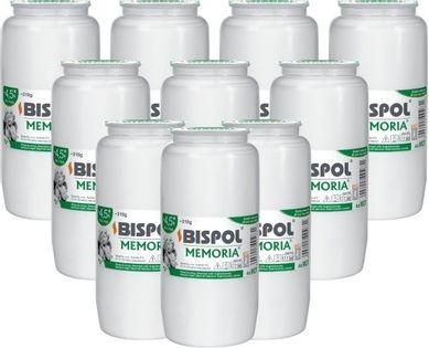 Wkłady do zniczy olejowe BISPOL WO7 108H 10szt.
