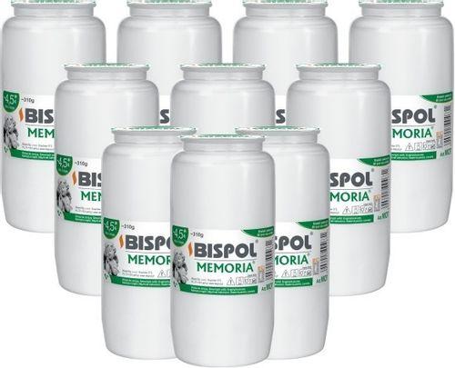 Wkłady do zniczy olejowe BISPOL WO7 108H 10szt. na Arena.pl