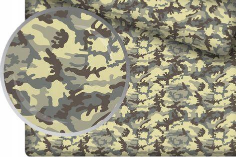 Prześcieradło Bawełniane 90x160 z Gumką Moro Army