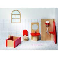Mebelki dla lalek - łazienka