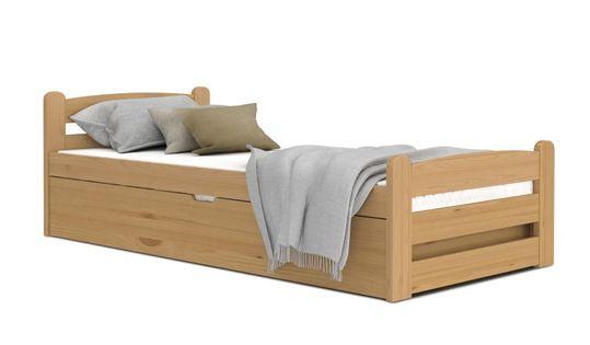 Łóżko DAWID olcha 200x90 podnoszone automat