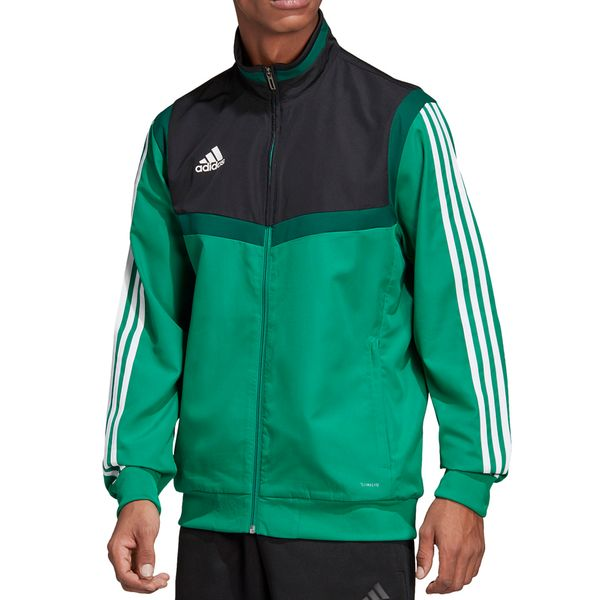 Bluza męska adidas Tiro 19 Presentation Jacket zielona DW4788 2XL