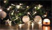Lampki świąteczne 30 LED na baterie 3m ciepłe białeJoylight zdjęcie 4
