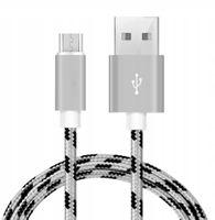 MICRO USB kabel do telefonu szybkie ładowanie 1M.