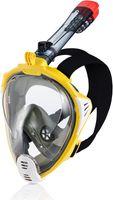 Maska do nurkowania pełnotwarzowa DRIFT Rozmiar - Maski - L/XL, Kolor - Drift - 18 - żółty / biały